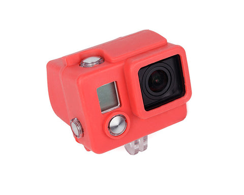 GoPro Silicone Case Cover for Hero 3+ / Hero 3 Plus Camera - Red