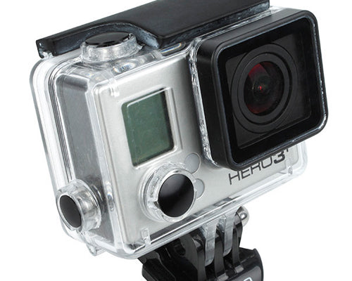GoPro Aluminum Button Set for Hero 3+ Camera Housing - Black