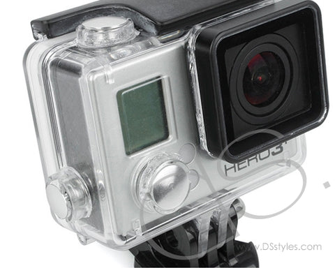 GoPro Aluminum Button Set for Hero 3+ Camera Housing - Silver