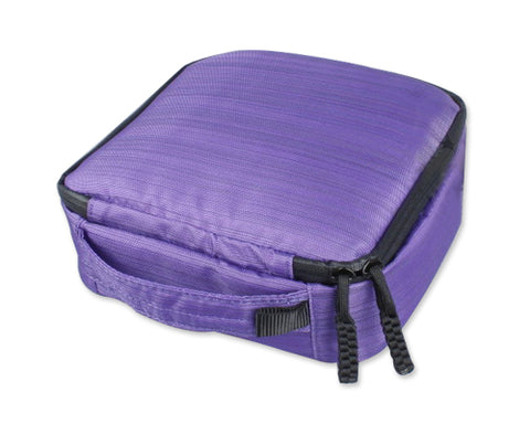 GoPro Full Set Storage Protective Bag Case for All Hero Cameras-Purple