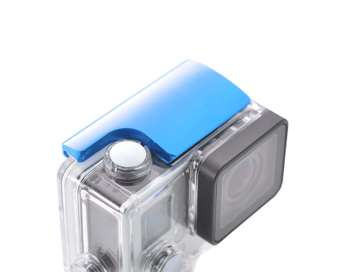 GoPro Aluminum Snap Latch Waterproof Housing Lock for Hero 3+/4-Blue