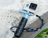 GoPro Lightweight Compact Grenade Hand Grip for Hero Camera - Blue