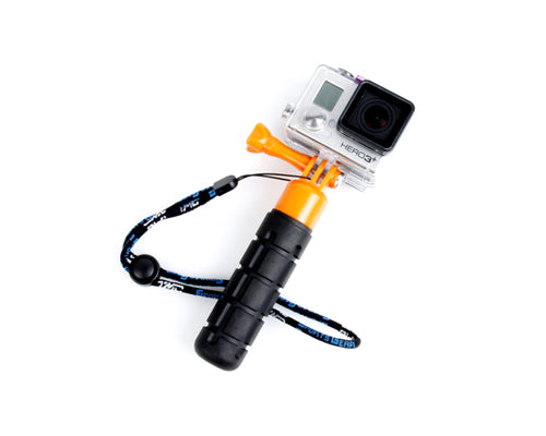 GoPro Lightweight Compact Grenade Hand Grip for Hero Camera - Orange