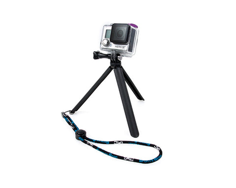 GoPro Mini Selfie Hand Grip Tripod w/ Screw for Hero Camera - Black