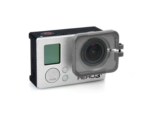 GoPro FPV Protective Lens Cover for Hero 3 / 3+ / 4 Camera - Gray