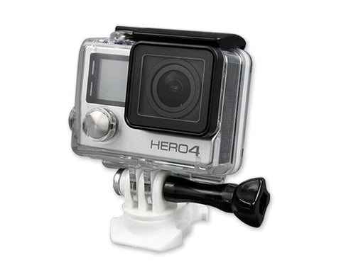 GoPro 360 Swivel Rotating Quick Release Mount for Hero Camera - White