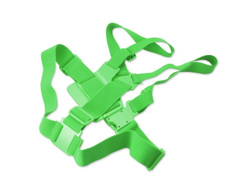 GoPro Adjustable Chest Mount Harness for All Hero Cameras - Green