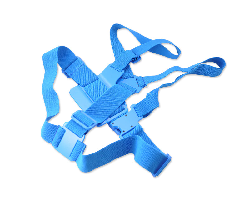 GoPro Adjustable Chest Mount Harness for All Hero Cameras - Blue