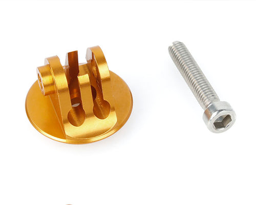 GoPro Aluminum Bike Headset Mount Adapter for Hero Cameras - Gold