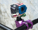 GoPro Aluminum Bike Headset Mount Adapter for Hero Cameras - Black