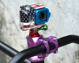 GoPro Aluminum Bike Headset Mount Adapter for Hero Cameras - Red