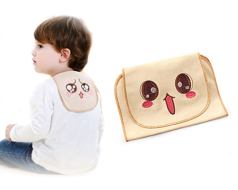 Baby Sweat Absorbent Organic Cotton Towel - Cute