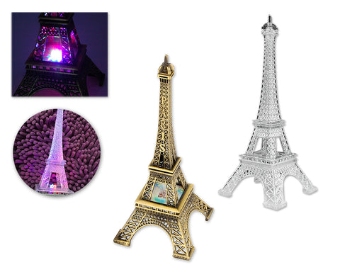 25 cm Eiffel Tower Model Statue Decoration with LED Light