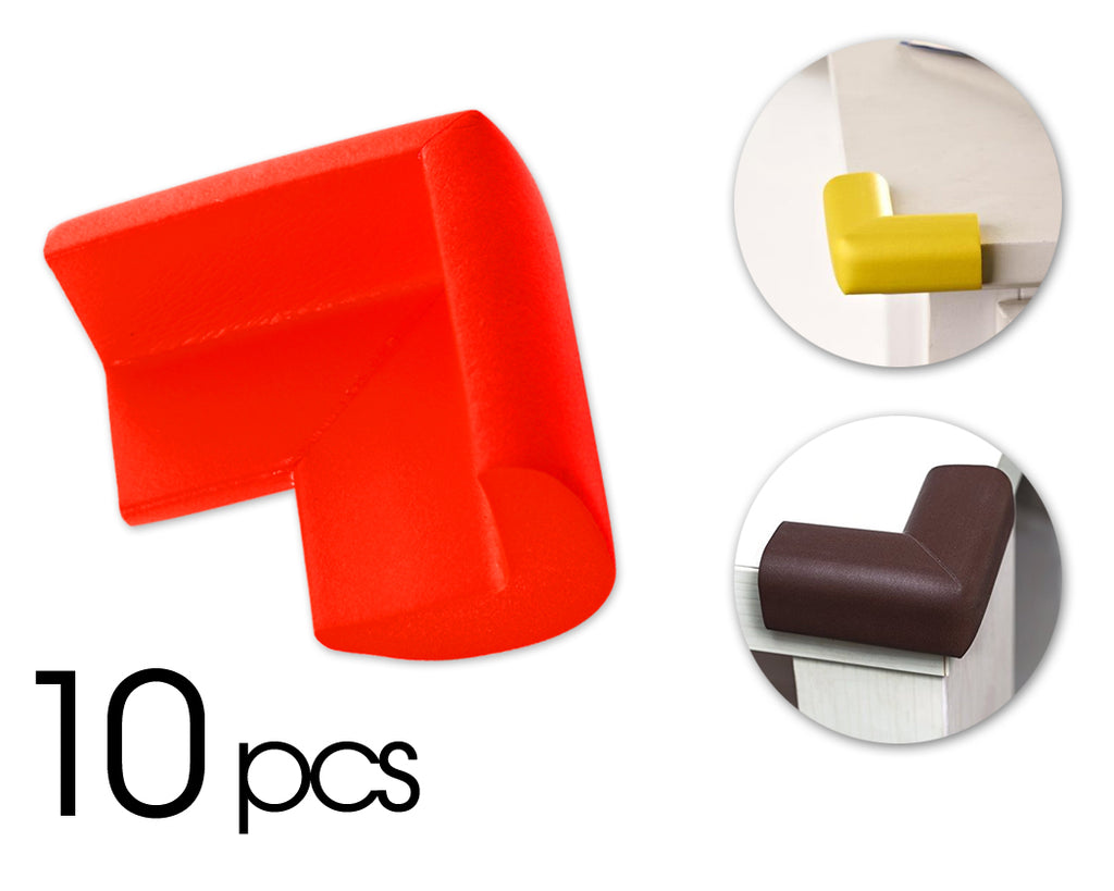 10 Pcs Child Furniture Safety Corner Guards- Red