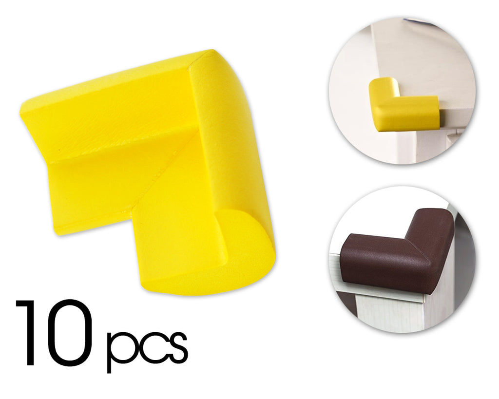 10 Pcs Child Furniture Safety Corner Guards- Yellow