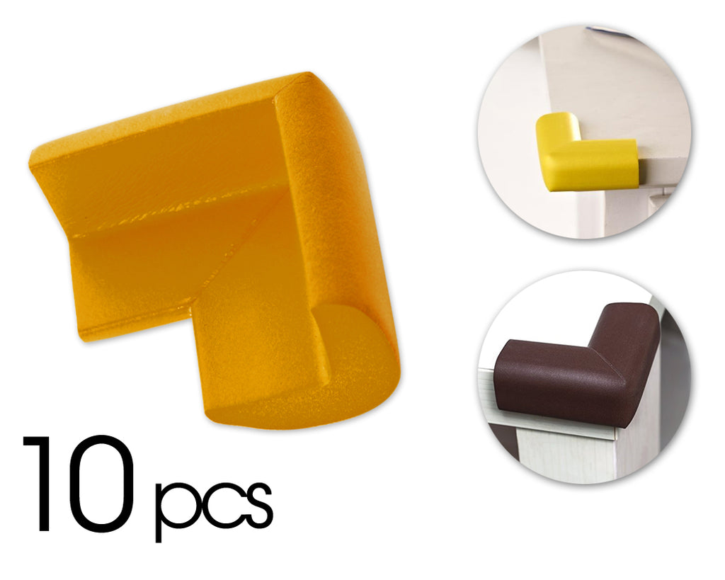 10 Pcs Child Furniture Safety Corner Guards- Orange