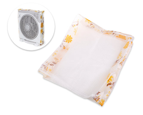 40 x 44 x 10 cm Safety Fan Protection Cover Net - Flower