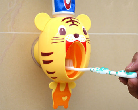 Creative Cute Cartoon Toothpaste Dispenser - Pig