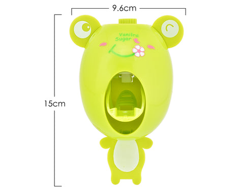 Creative Cute Cartoon Toothpaste Dispenser - Frog