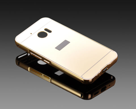 Mirror Series HTC 10 Metal Case - Gold