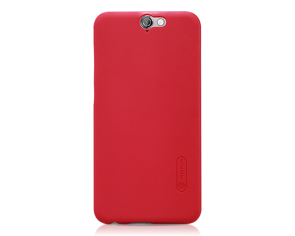 Embossed Dots Series HTC One A9 Matte Hard Case - Red