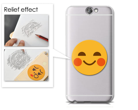Emoji Series HTC One A9 Case - Blushing Smile
