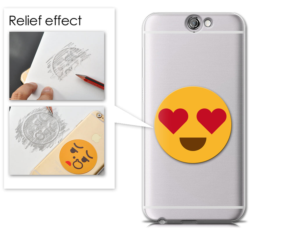 Emoji Series HTC One A9 Case - Love