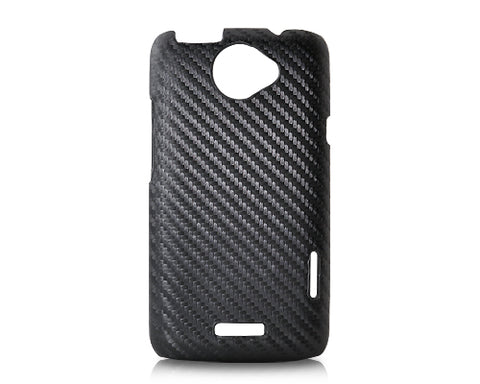 Twill Series HTC One X Leather Case - Black