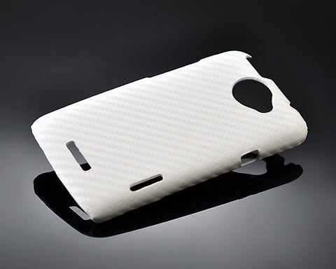 Twill Series HTC One X Leather Case - White