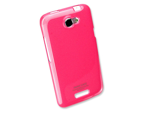 Jelly Series HTC One X Silicone Case S720e - Pink