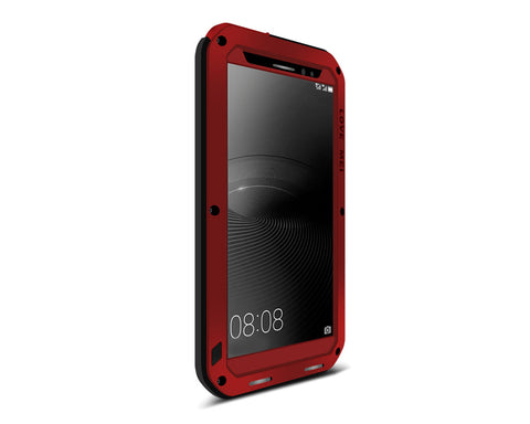 Waterproof Series Huawei Mate 8 Metal Case - Red