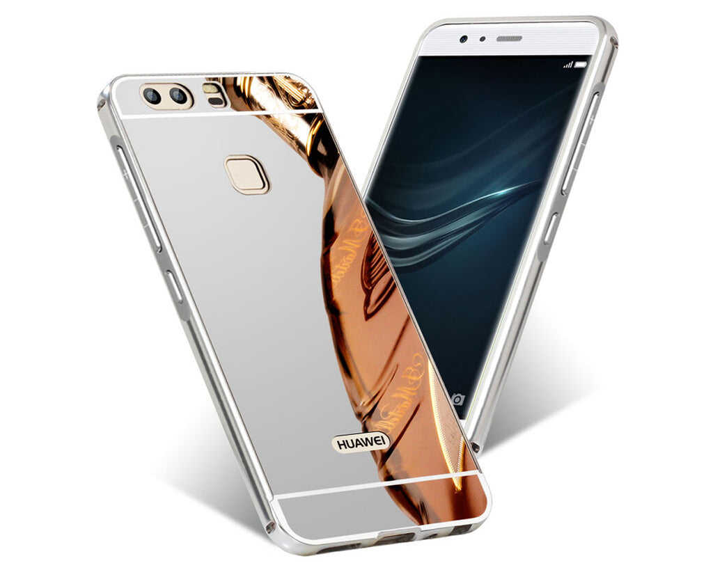 Mirror Series Huawei P10 Plus Metal Frame Back Case