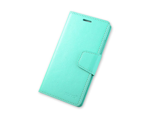 Fold Series Huawei P8 Flip Leather Case - Mint