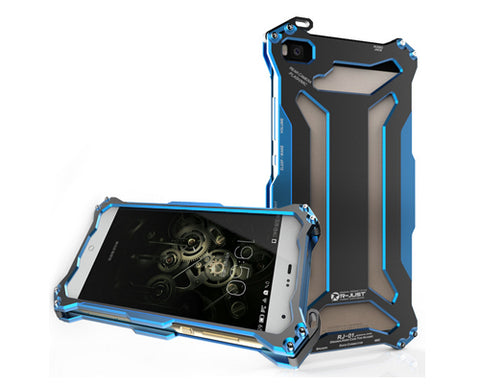 Armor Series Huawei P8 Lite Metal Case - Blue