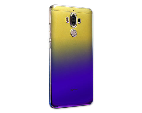 Gradient Color Series Huawei Mate 9 Hard Case - Purple, Blue & Yellow