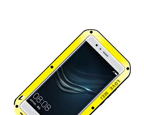 Waterproof Series Huawei P9 Metal Case - Yellow