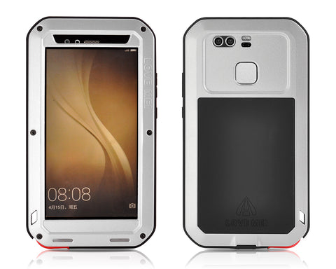 Waterproof Series Huawei P9 Metal Case - Silver