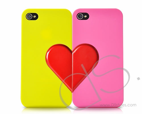 Love Series iPhone 4 and 4S Case Couple Set - Romantic