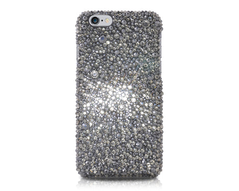 Anomaly Bling Swarovski Crystal iPhone Xs Max Cases - Silver