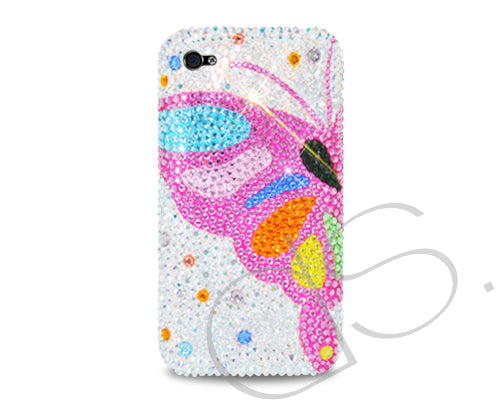 Butterfly Wing Bling Swarovski Crystal Phone Cases