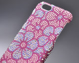 Sweet Bonquet Bling Swarovski Crystal Phone Cases - Pink