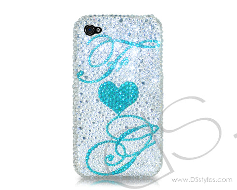 Personalized Eternal Love Bling Swarovski Crystal Phone Cases