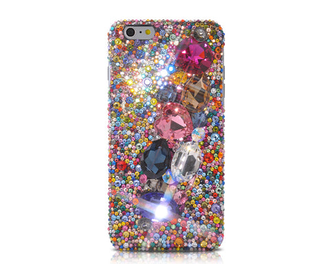 Colorato 3D Bling Swarovski Crystal iPhone Xs Max Cases