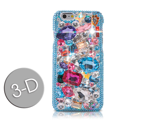 Losange 3D Bling Swarovski Crystal Phone Cases