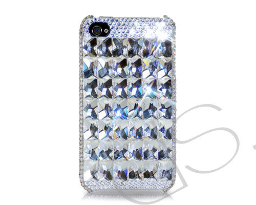 Cubical Ice Queen Bling Swarovski Crystal Phone Cases