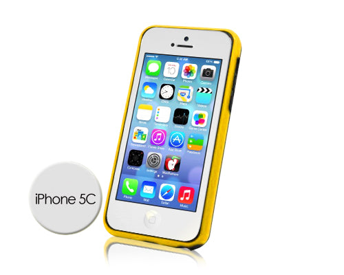 Bumper Series iPhone 5C Case - Yellow Black