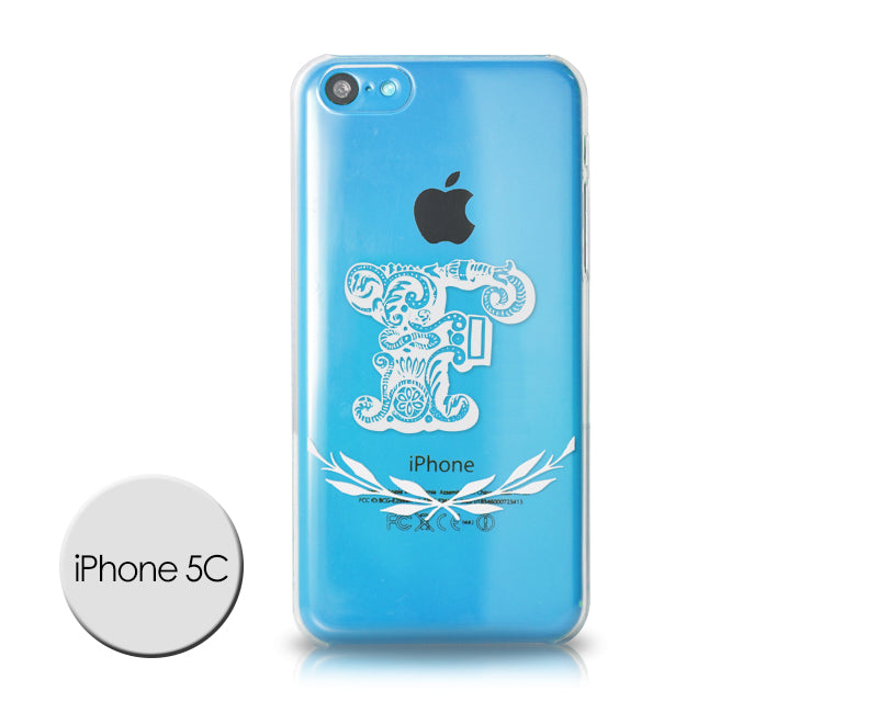 Alphabet Series iPhone 5C Case - F
