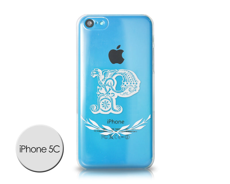 Alphabet Series iPhone 5C Case - P
