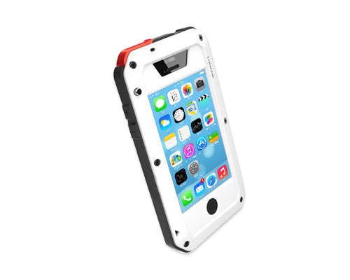 Waterproof Series iPhone 5C Metal Case - White