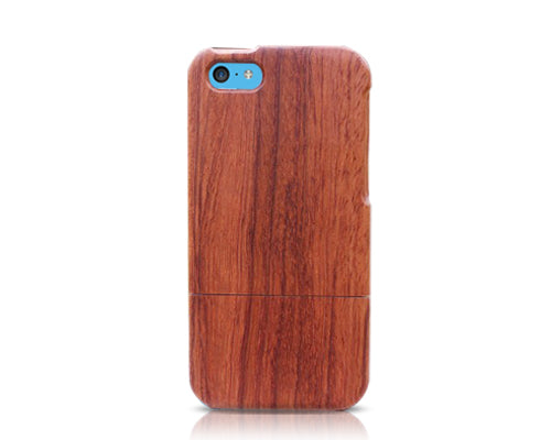 Genuine Wood Series iPhone 5C Case - Brown
